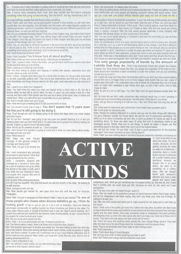 Active Minds (Direct Hit #1) f
