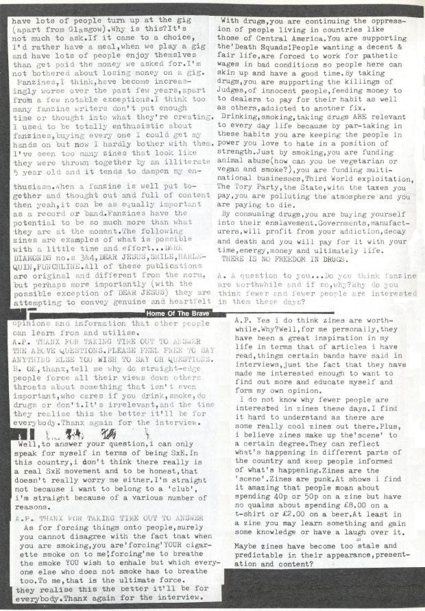 Disaffect (Attitude Problem #26) e