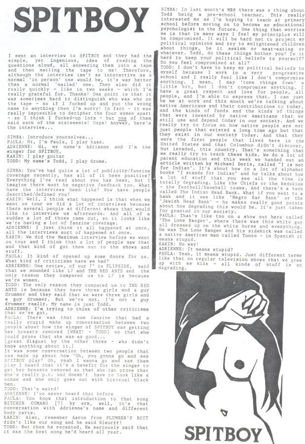 Spitboy (Simba #2) a