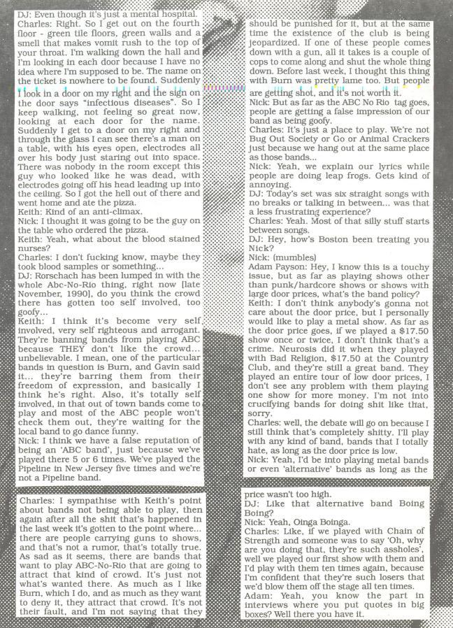 Rorschach (Dear Jesus #38) d