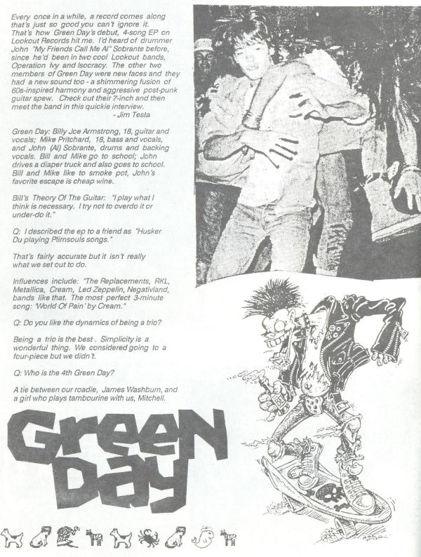 Green Day (Grot #5) a