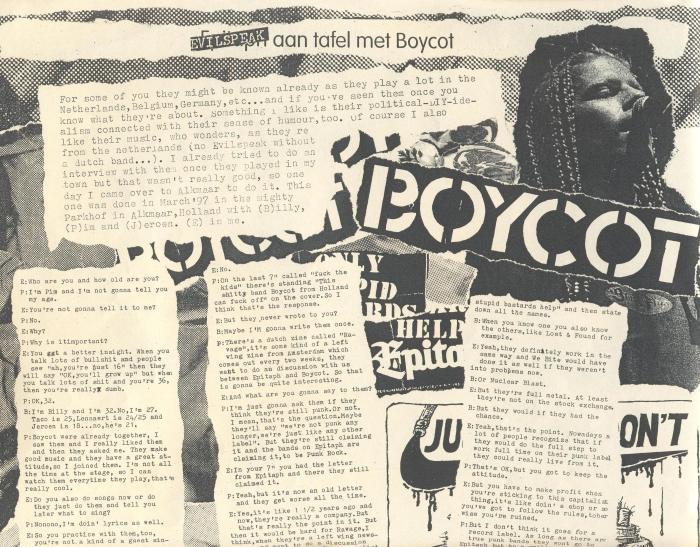 Boycot (Evilspeak #3) a