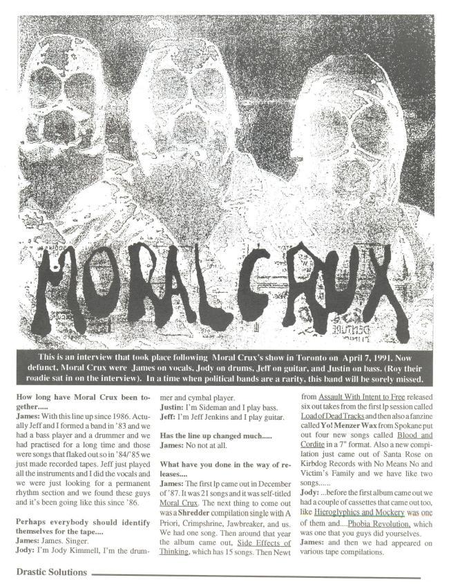 Moral Crux (Drastic Solutions #5) a
