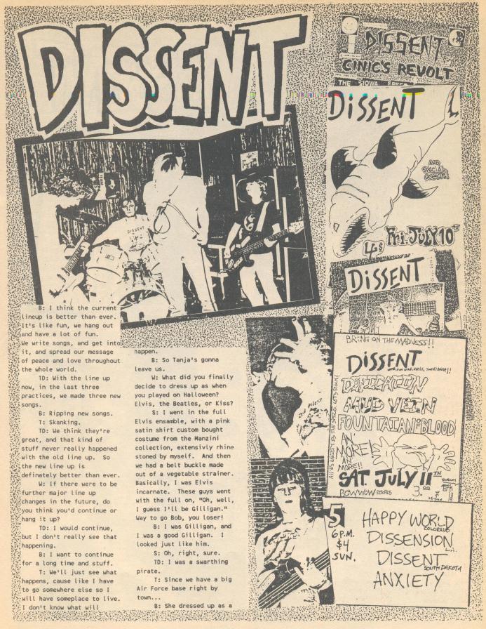 Dissent (Wajlemac #5) b