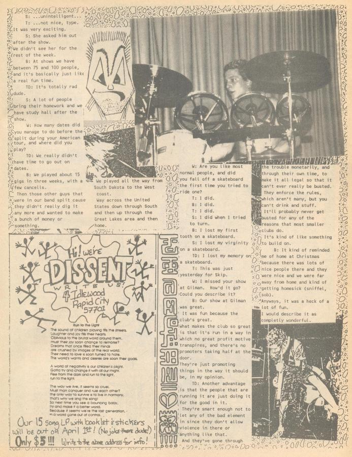 Dissent (Wajlemac #5) d