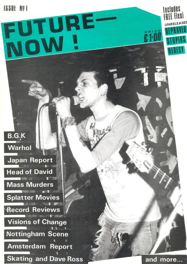 VOC - Future Now! #1 cover