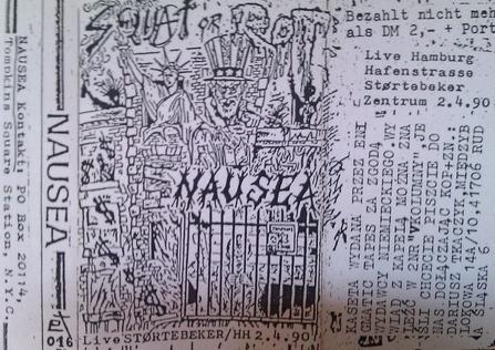 Nausea Hamburg tape