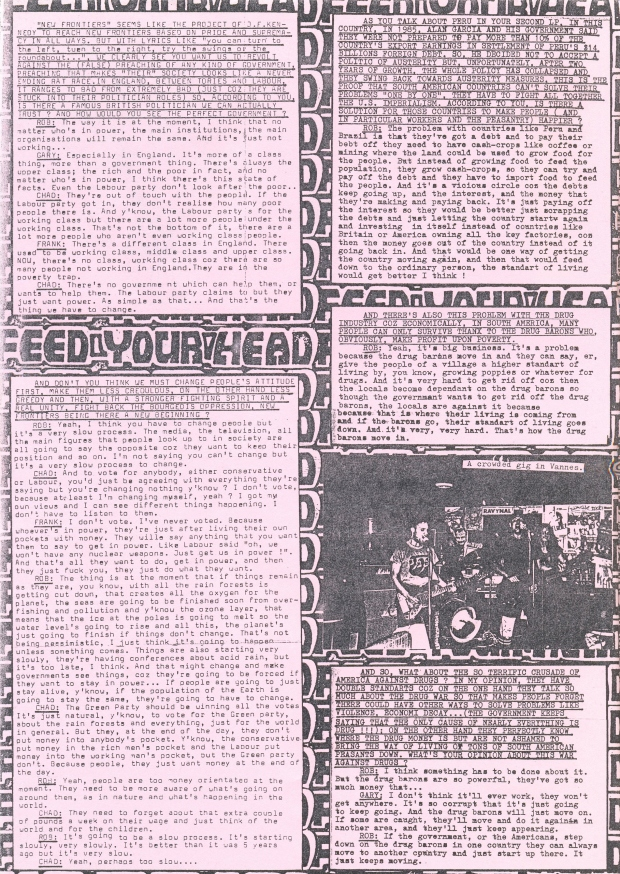 Feed Your Head (Uprising Decay #3) f