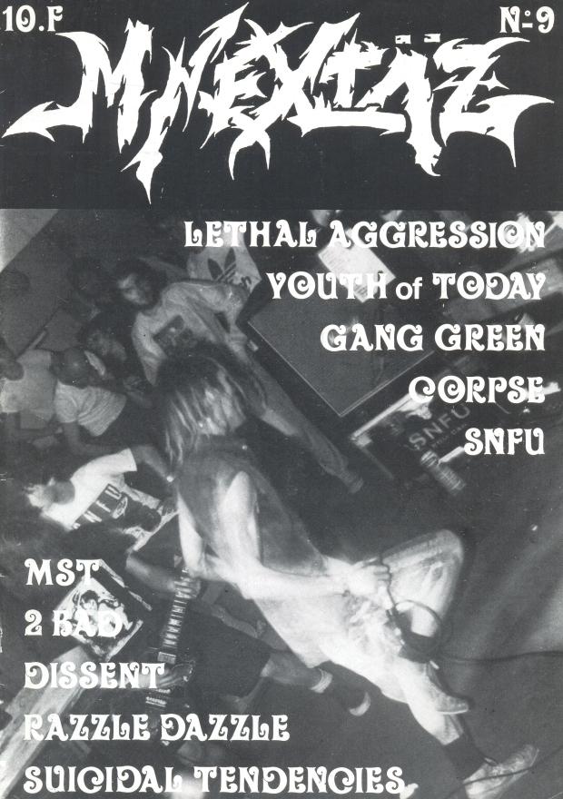 SNFU (M-Extaz #9) cover
