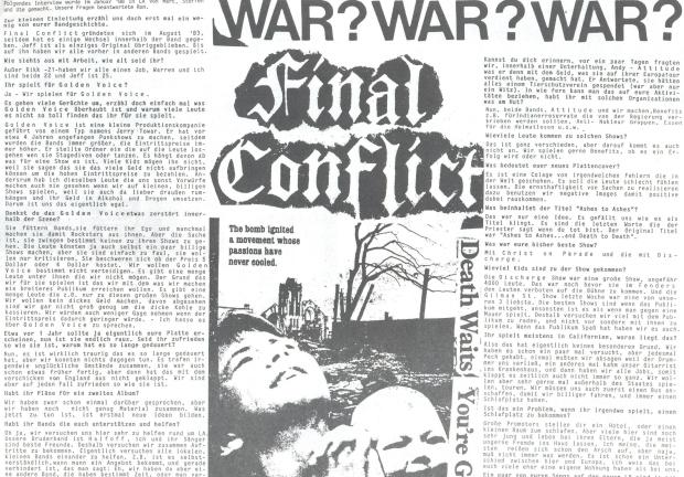 Final Conflict (Bonzen #8) a
