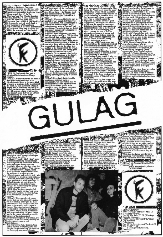 Gulag (UK Resist #5)