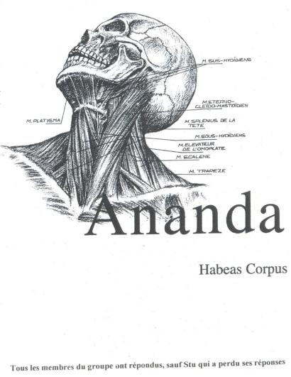 Ananda (Twist & Shout #1) a (-)