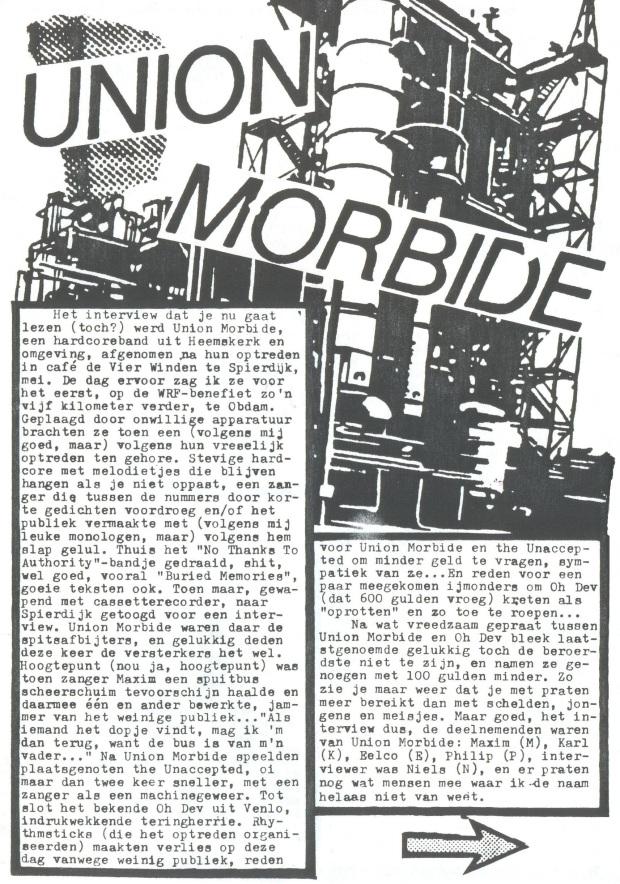 Union Morbide (Waakheer #3) a