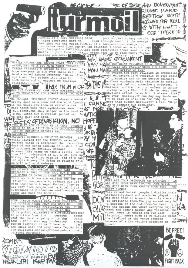 Turmoil (Flammable Sheet #2) a