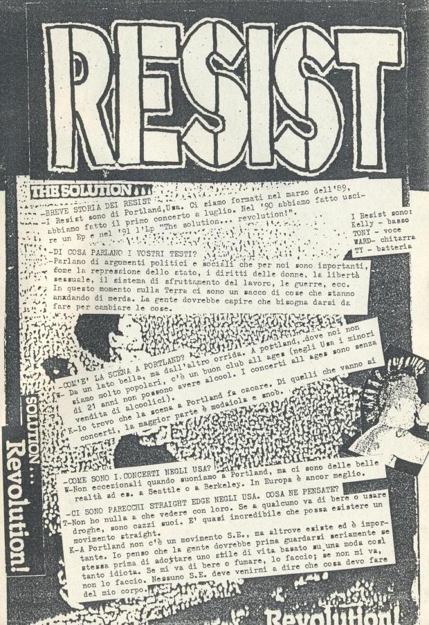 Resist (Intransigente #1) a