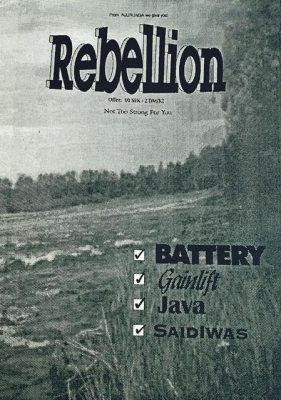 Rebellion #1 (Henrik Wermelin)